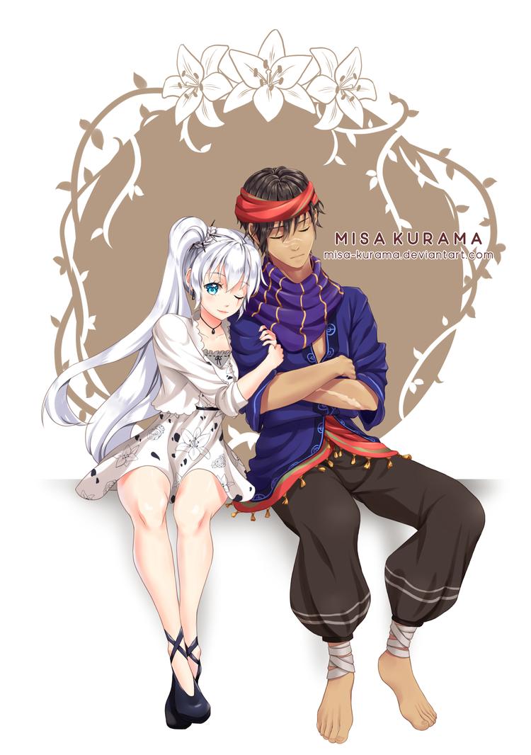 [HBD] Arshad x Sora by Misa-Kurama