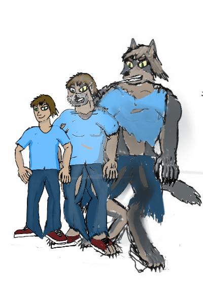 Wolf Transformation Sequence V8 Werewolf Tra...