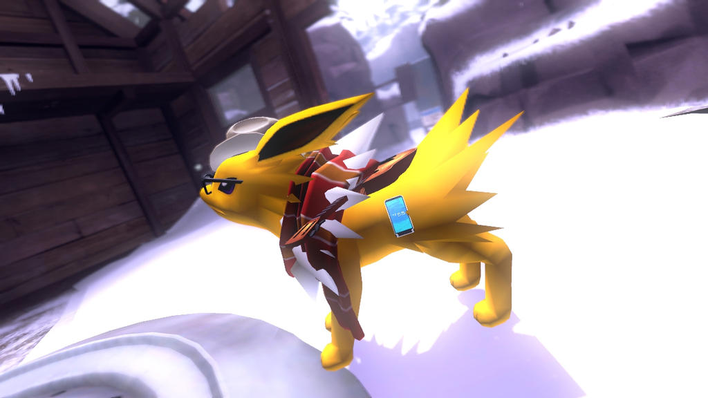 Introducing v8 the Jolteon! by V8Arwing67