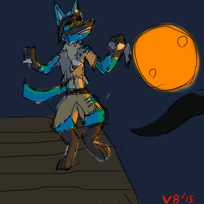 V8 The Were-Lucario Post TF! by V8Arwing67