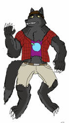 90's Werewolf! by V8Arwing67