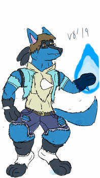 V8 The Chill Were-Lucario 2019 Ver.