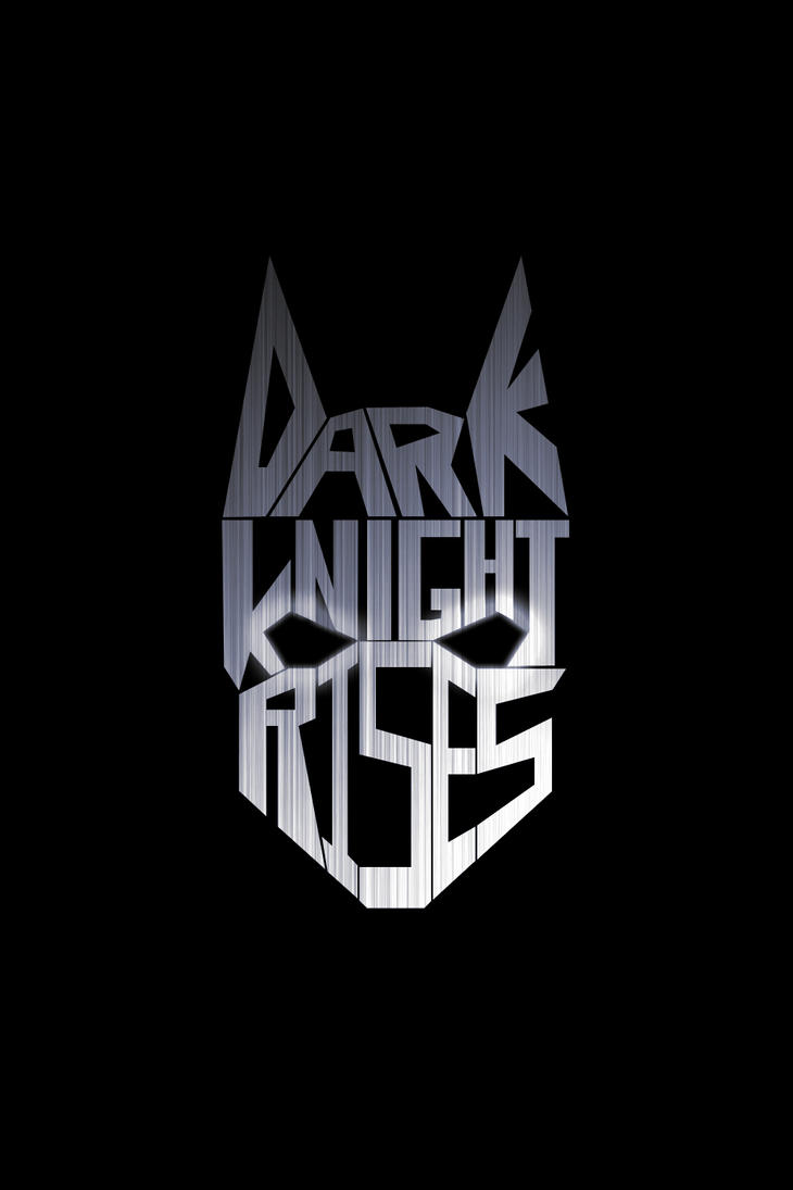 The Dark Knight Rises - Cowl Typography by elguapo1991