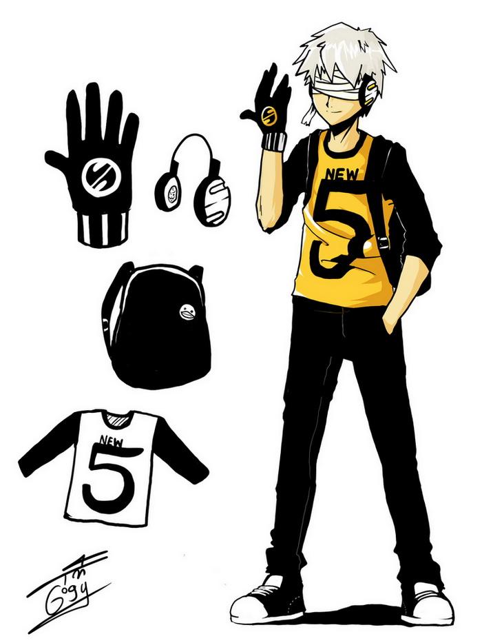 [Character]ไฟว์ วินเทอร์ (Five Vinther) Five_by_munjingjing-d39lov5