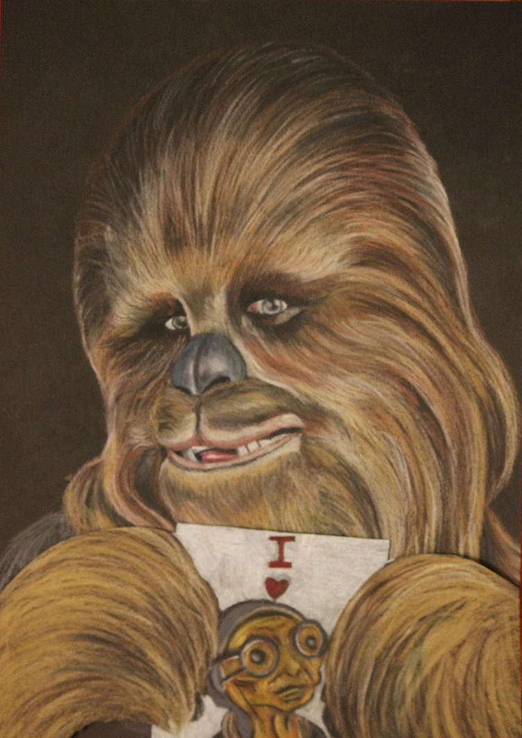 Chewbacca by P-Jessica