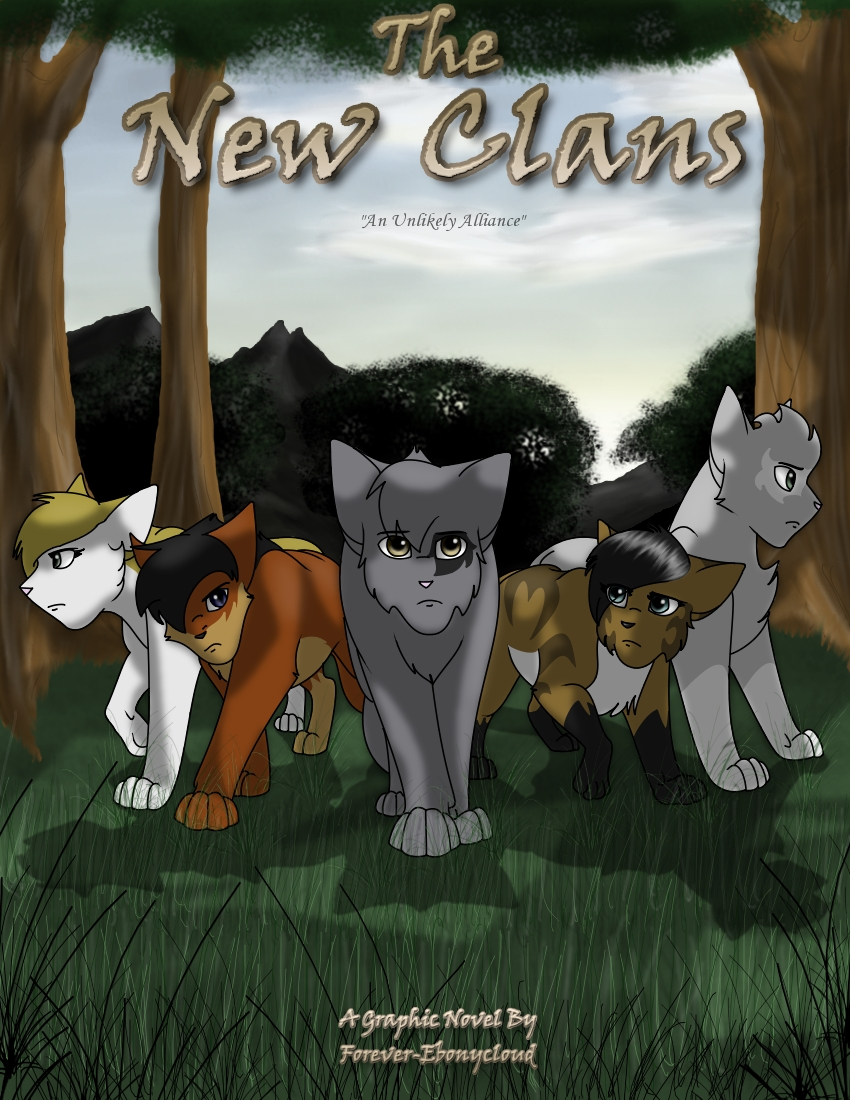 The New Clans Chapter 1 Cover by Ebonycloud-Graphics