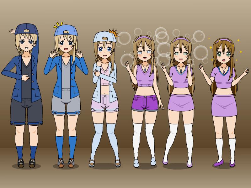 Boy to girl transformation anime