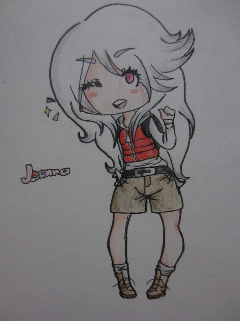 Joanna --Art Trade for Illeh665 by AnimeBoyCrazy4