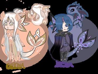 Skyfish MYO ((Corona and Noctua)) by AnimeBoyCrazy4