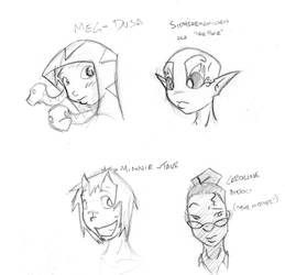 Random Heroes - Generation Hex by Neer-Do-Well