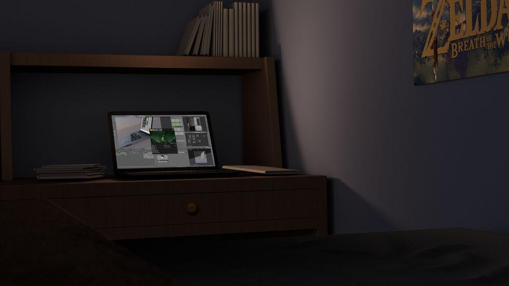 Anime Background Bedroom Shot 2 By Naaplus On Deviantart