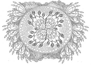 Coloring Page - For Sale (Digital Download) by Atanata