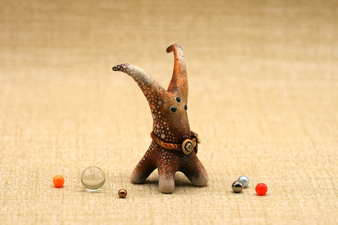 New sale: Horned Alien Horse by Atanata