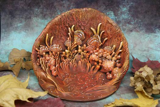 Fantasy Scenery Plate