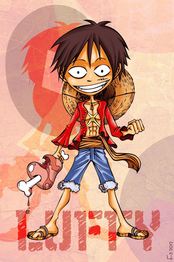 Luffy by F-ocube