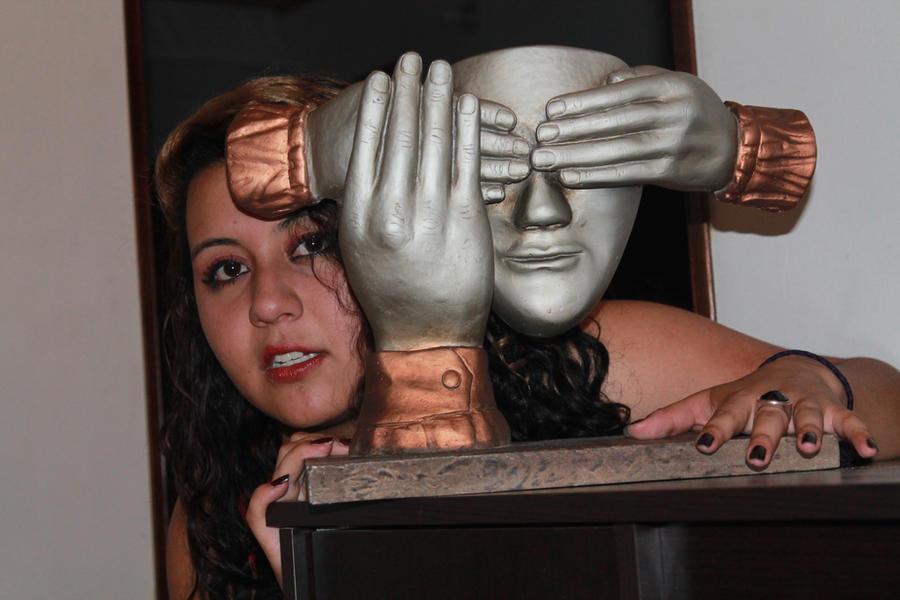 Daniela Andrea Mask stock by ayumidany14