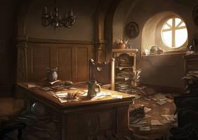 Hobbiton Post Office by Joshk92