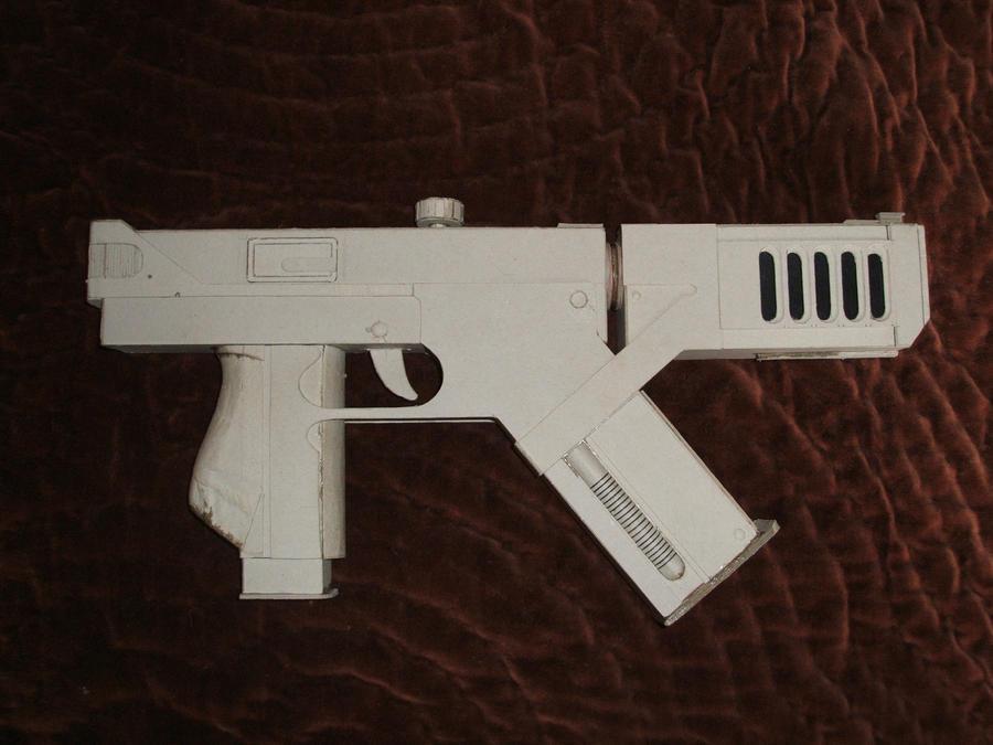 Blade 2 Machine Pistol by PatrickGavin