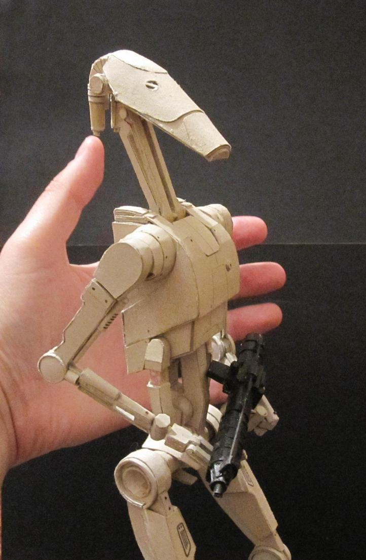 Star Wars Battle Droid by PatrickGavin