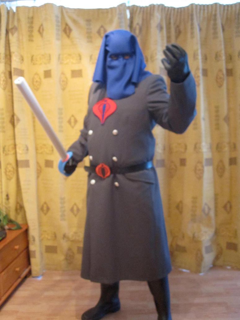 Cobra Commander Costume (Hood) by PatrickGavin