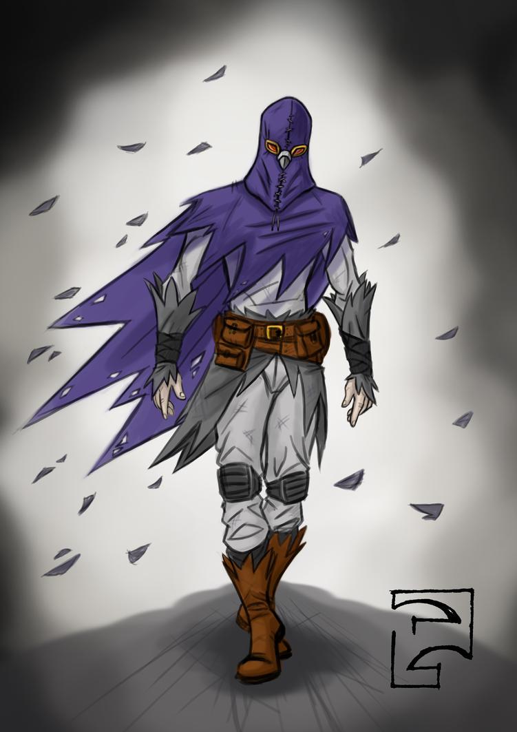 That hobo hero, The Pigeon. by PatrickGavin