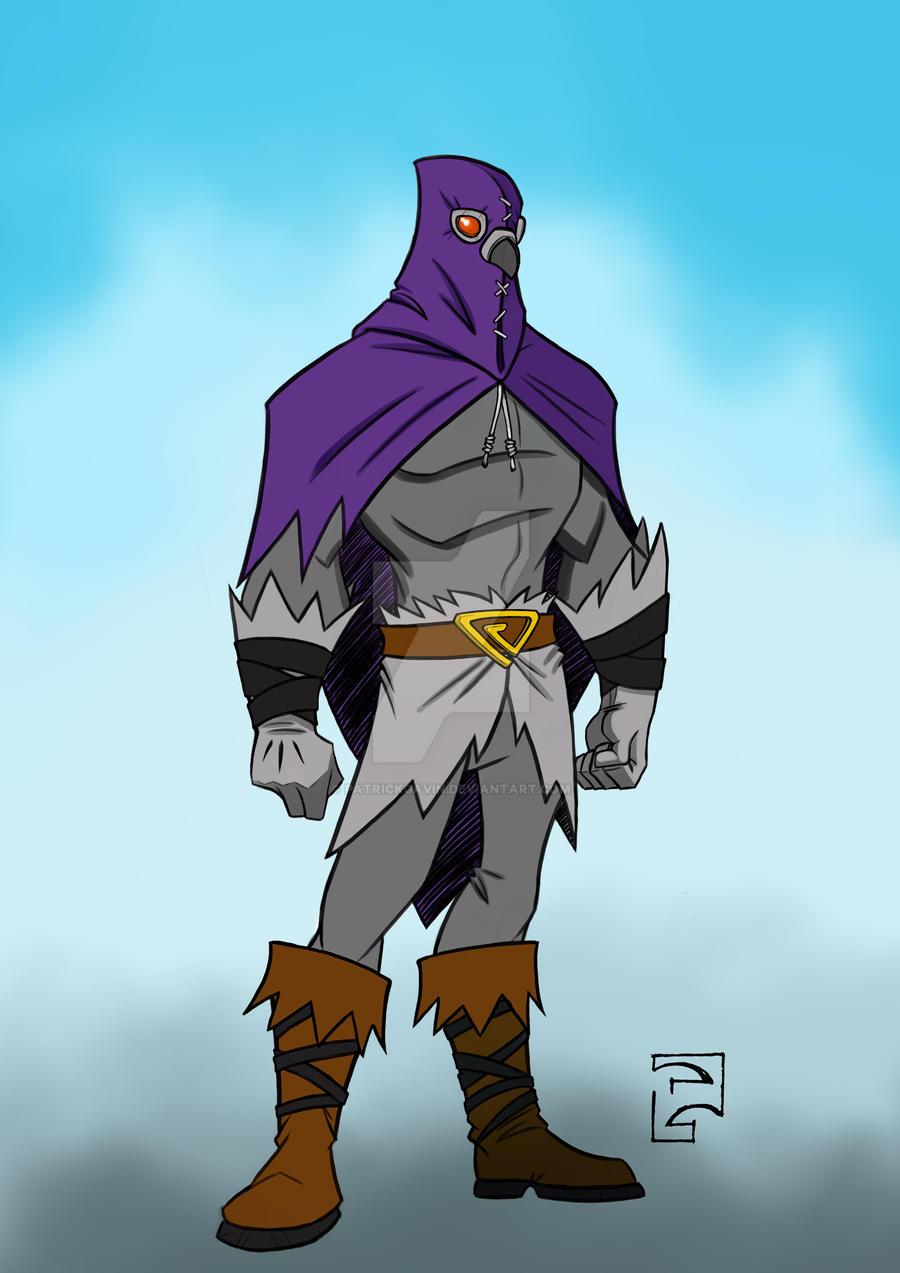 The Pigeon - Hero Pose by PatrickGavin