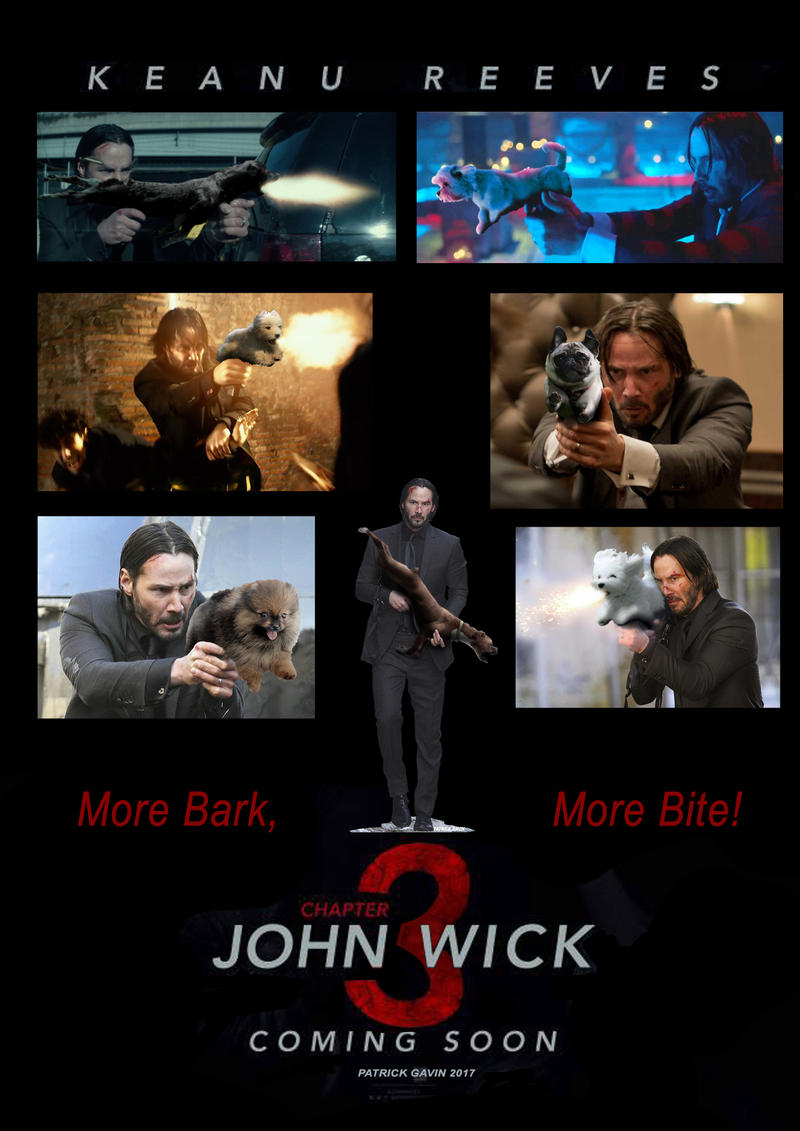 Gun-Dog (John Wick 3) by PatrickGavin