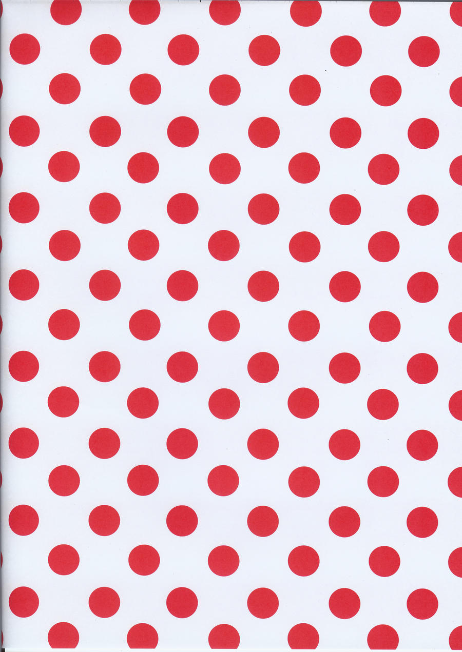 Red Polka Dots By BelovedStock