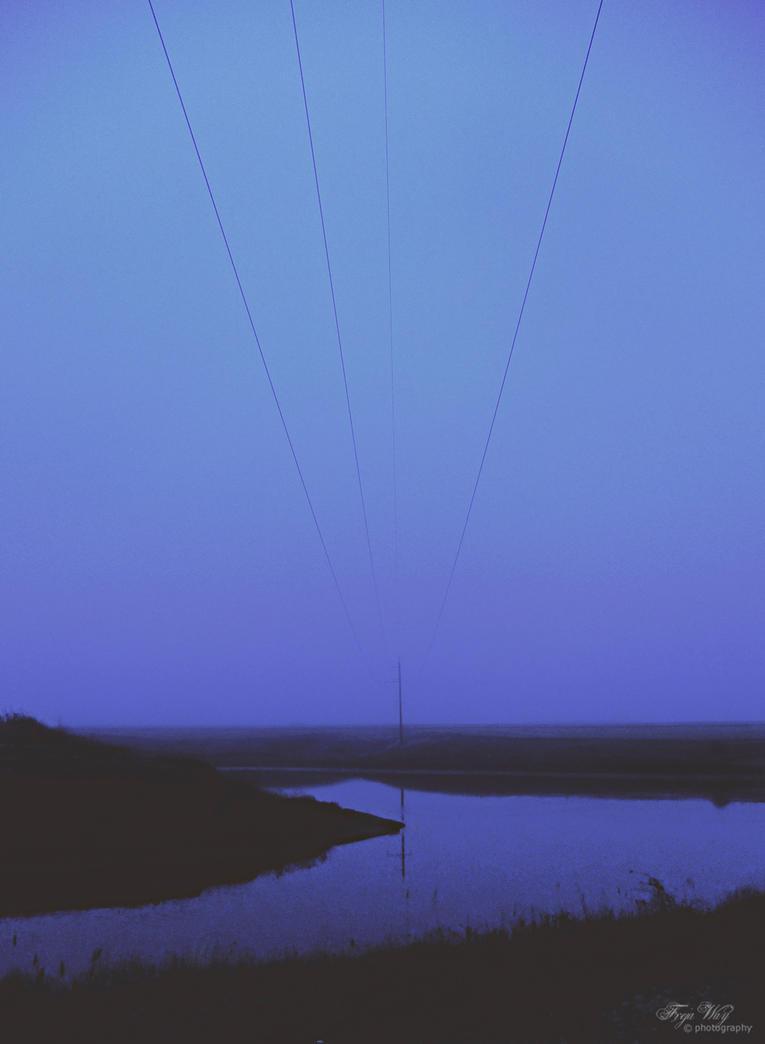 Dark Blue Night by FrejaWay