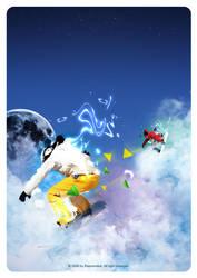 sky jump by raymondus