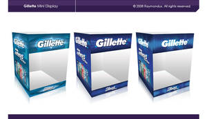 Product Display Gillette by raymondus