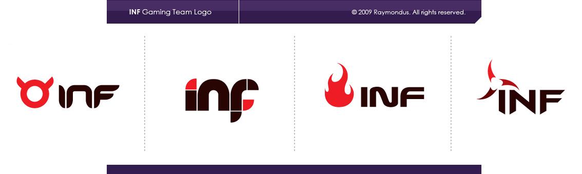 Gaming Team Logos Inf Gaming Team Logo by