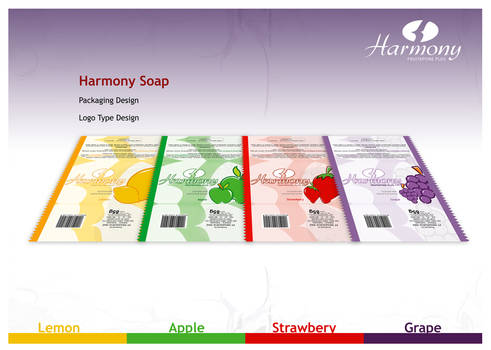 harmony soap packaging