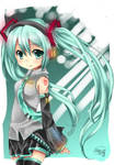 Miku Hatsune by 0-Tainasyum-0