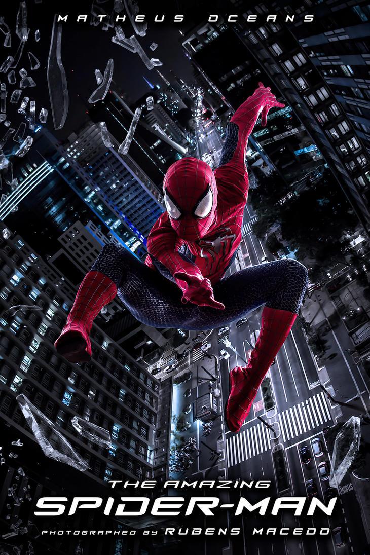 Marvel Discovery: Fantasia do Homem Aranha |Black Spiderman Costume Replica
