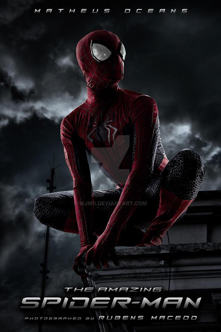 The Amazing spider man 2 costume replica by Mjmg ... & The Amazing spider man 2 costume replica by Mjmg on DeviantArt