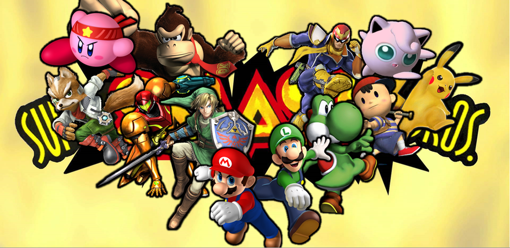 N64 Super Smash Brothers Characters by XxNin-8 ...