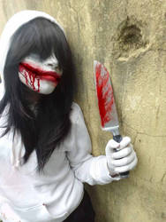 Jeff The Killer Cosplay by Lisari-Neon