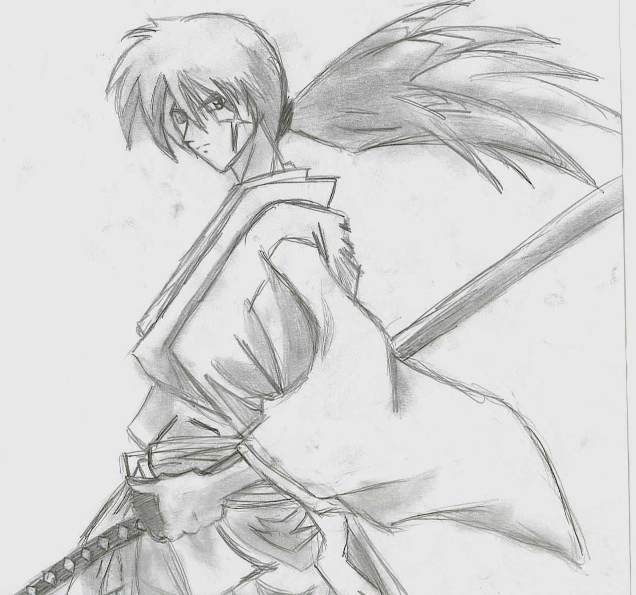 Himura Kenshin By Josorogir