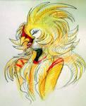 Aurelius, headshot commission by Airena14