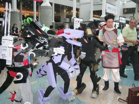 Zoids cosplayers
