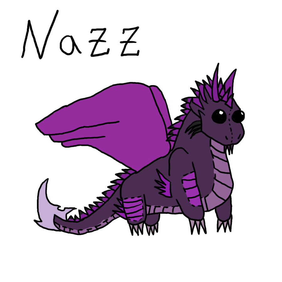 Nazz Dragon Plushie For The-MuseDragon by Kamari-Inuzuka