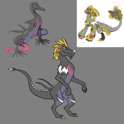 Pokemon: Kommo-oXSalazzle Hybrid