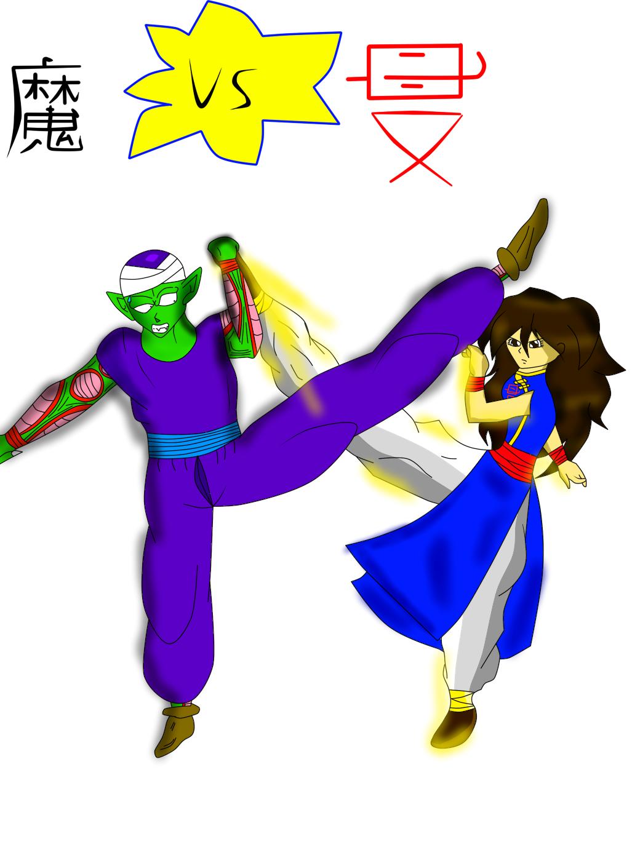 Ma junia vs Shi li daughter by MsGraziosa