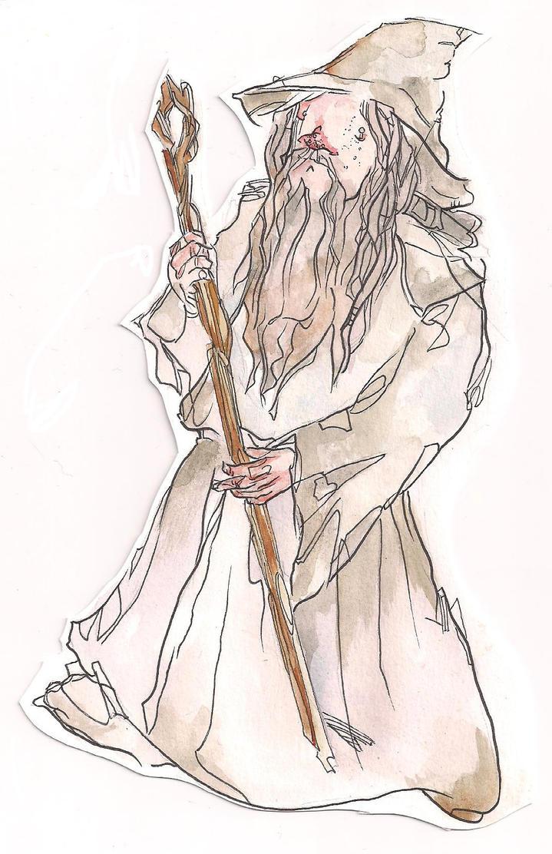 Teeny Gandalf by Emishly