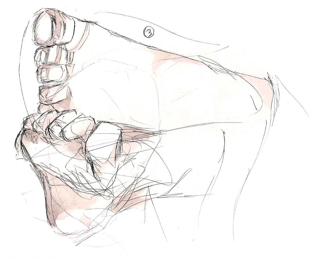 Kaja's Feet by Emishly