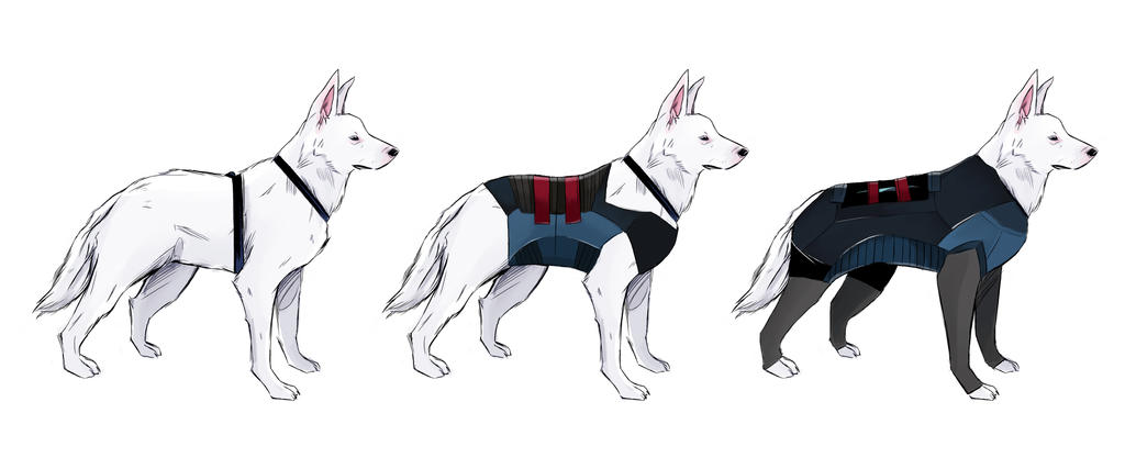 Military Dog Concept by Emishly