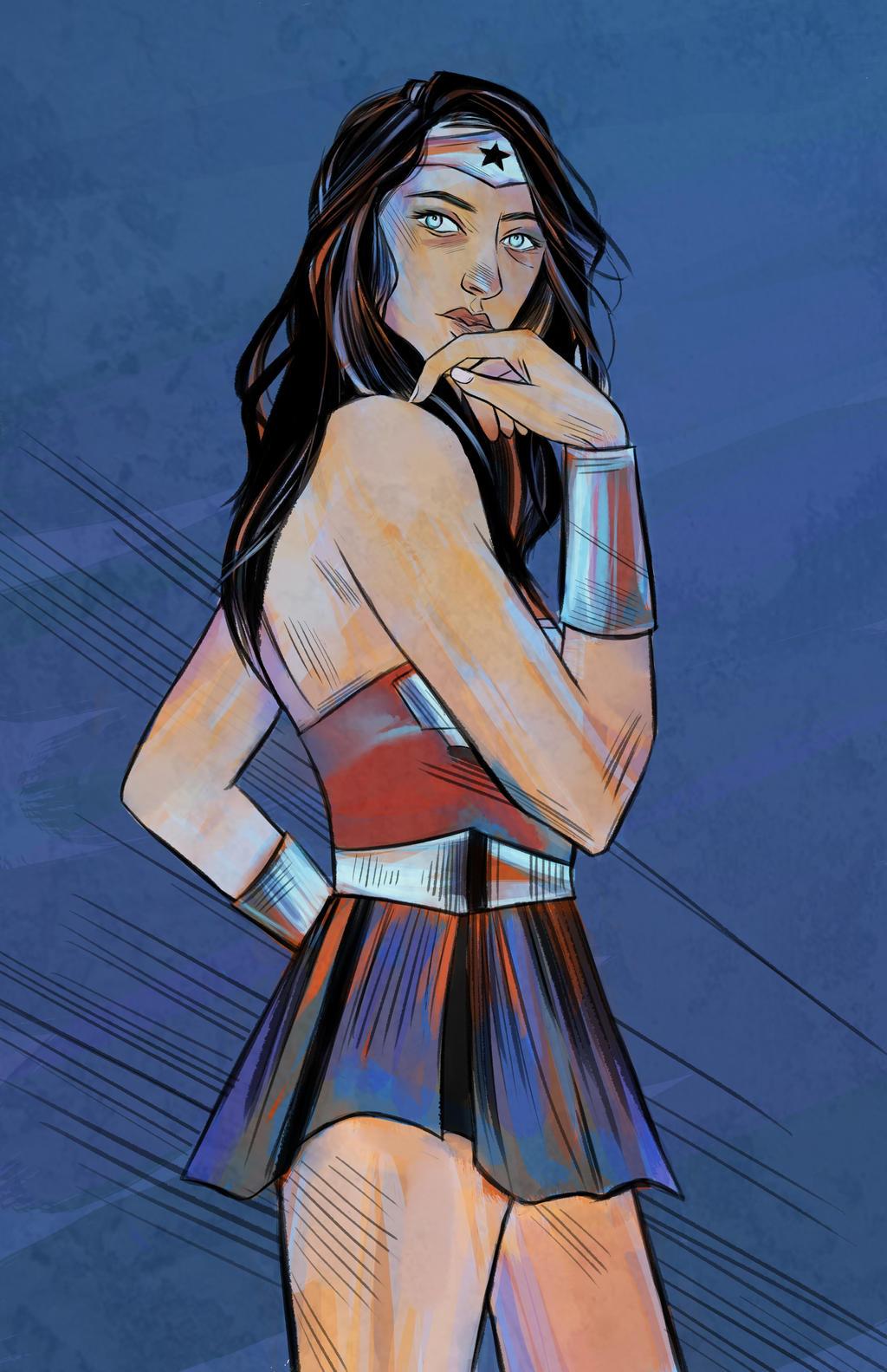 Wonder Woman by Emishly
