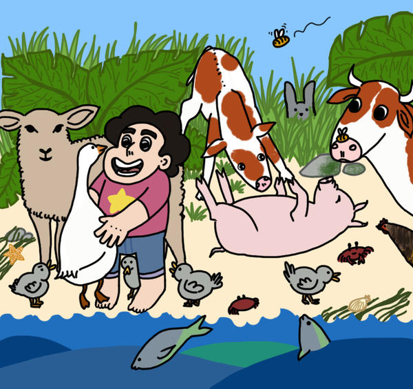 What if Steven went vegan? by vilbery