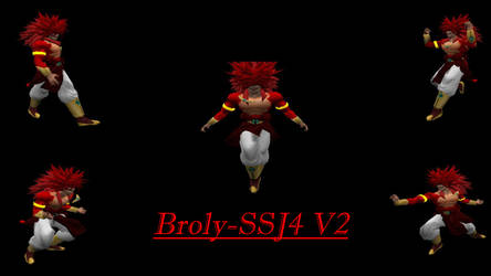 Broly-SSJ4 Redone